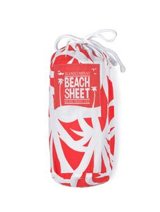 Island Company Beach Sheet Red Trinidad - Ship Chic