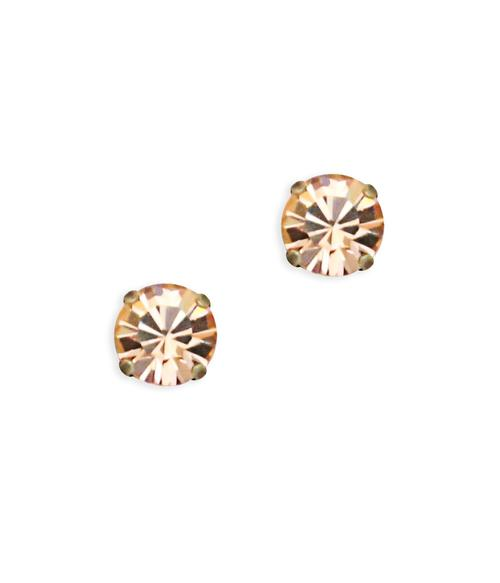 Loren Hope Kaylee Studs - Light Peach - Ship Chic