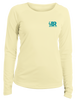 Boaters Republic Ladies Sunset Pelican - L/S Performance White - Ship Chic