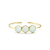 Margaret Elizabeth Athens Bangle Aqua Chalcendony - Ship Chic