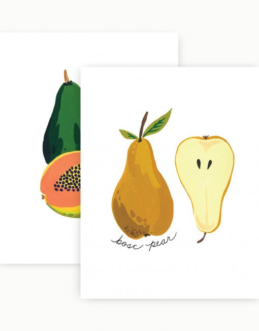 Idlewild Co Fruits Gallery Wall Art Prints 11 x 14 - Ship Chic