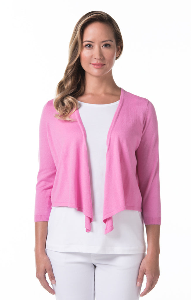 Tori Richard Island Toppers Paula Sweater - Wild Rose - Ship Chic