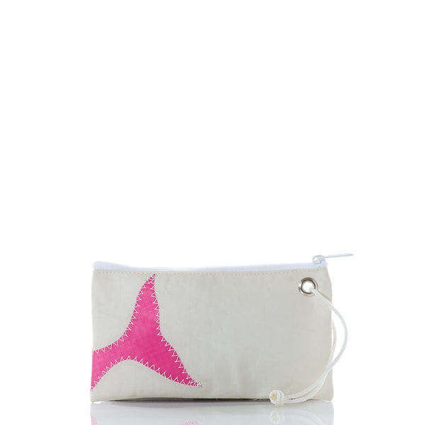 Seabags Pink Whale Tail Wristlet - Ship Chic
