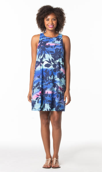 Tori Richard Distant Haze Clarissa Dress - Ship Chic