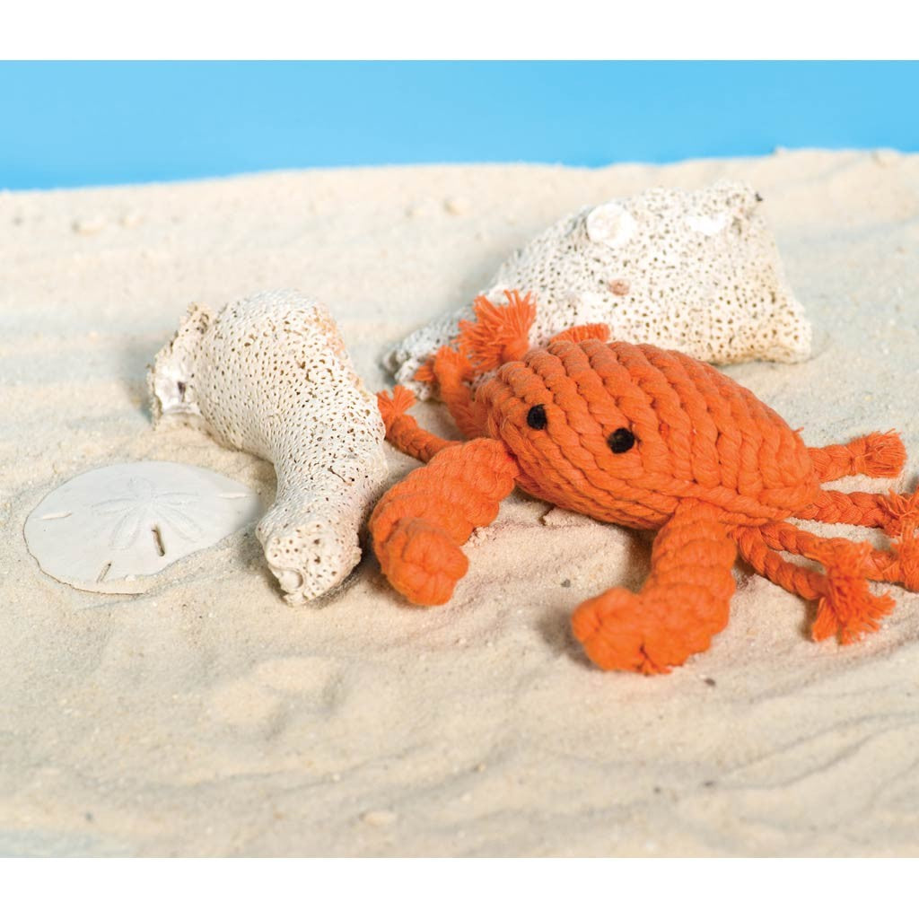 Jax & Bones Crab Rope Toy - Ship Chic