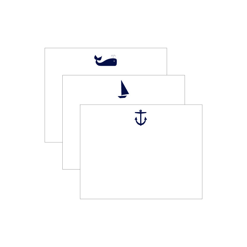 First Mate Trio Letterpress Note Collection