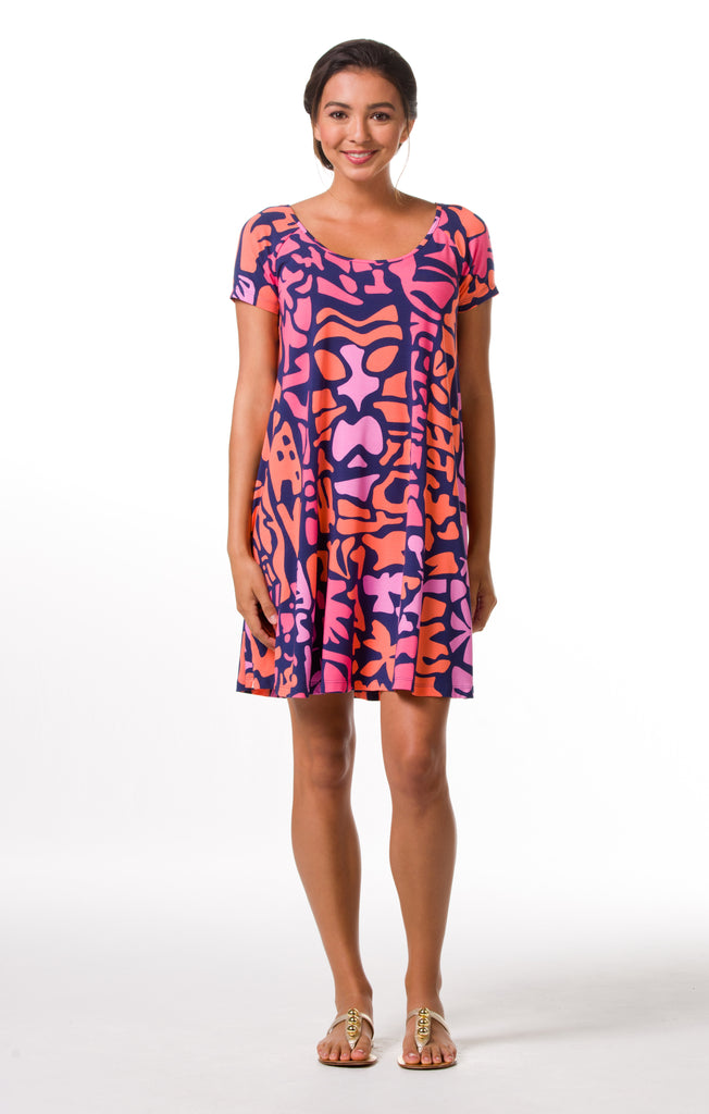 Tori Richard Giraffic Park Kaylin Dress - Ship Chic