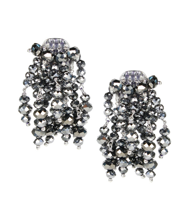 Lisi Lerch Firecracker Earrings Silver - Ship Chic