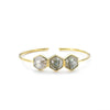 Margaret Elizabeth Athens Bangle Labradorite - Ship Chic