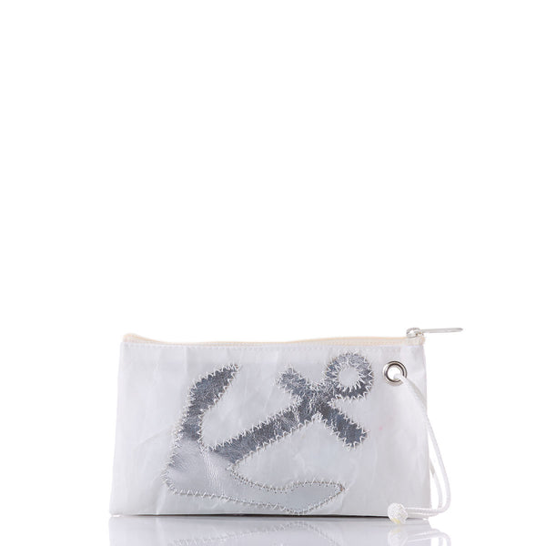 Seabags Silver Anchor Wristlet - Ship Chic