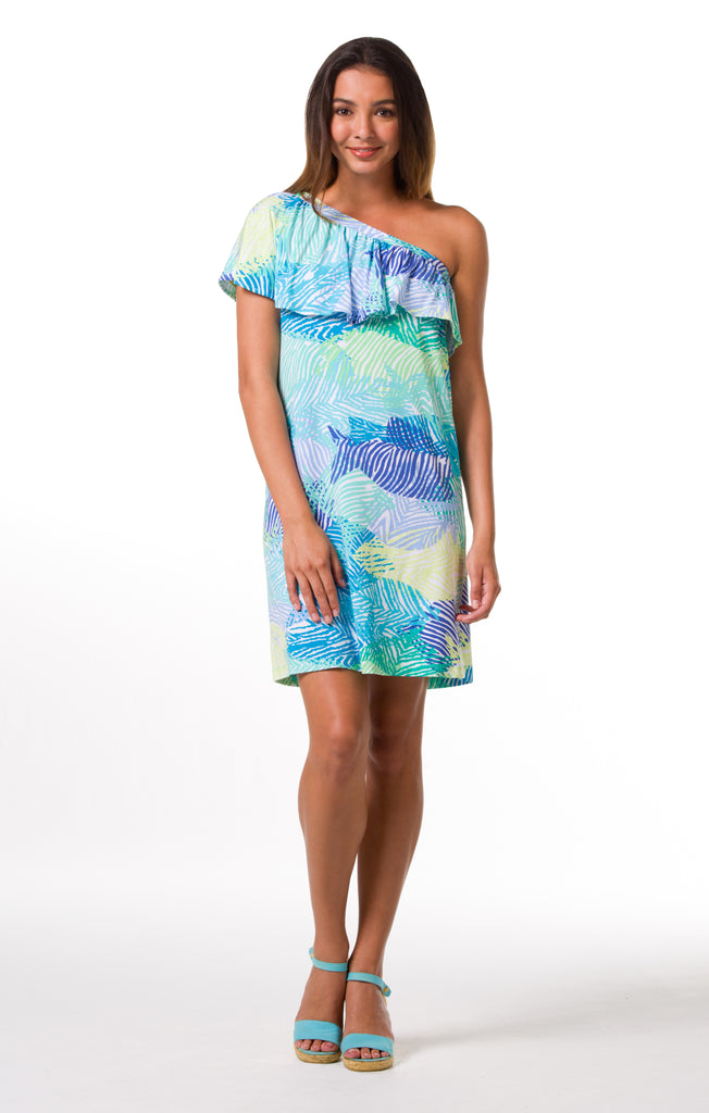 Tori Richard Something's Fishy Giselle Dress - Ship Chic