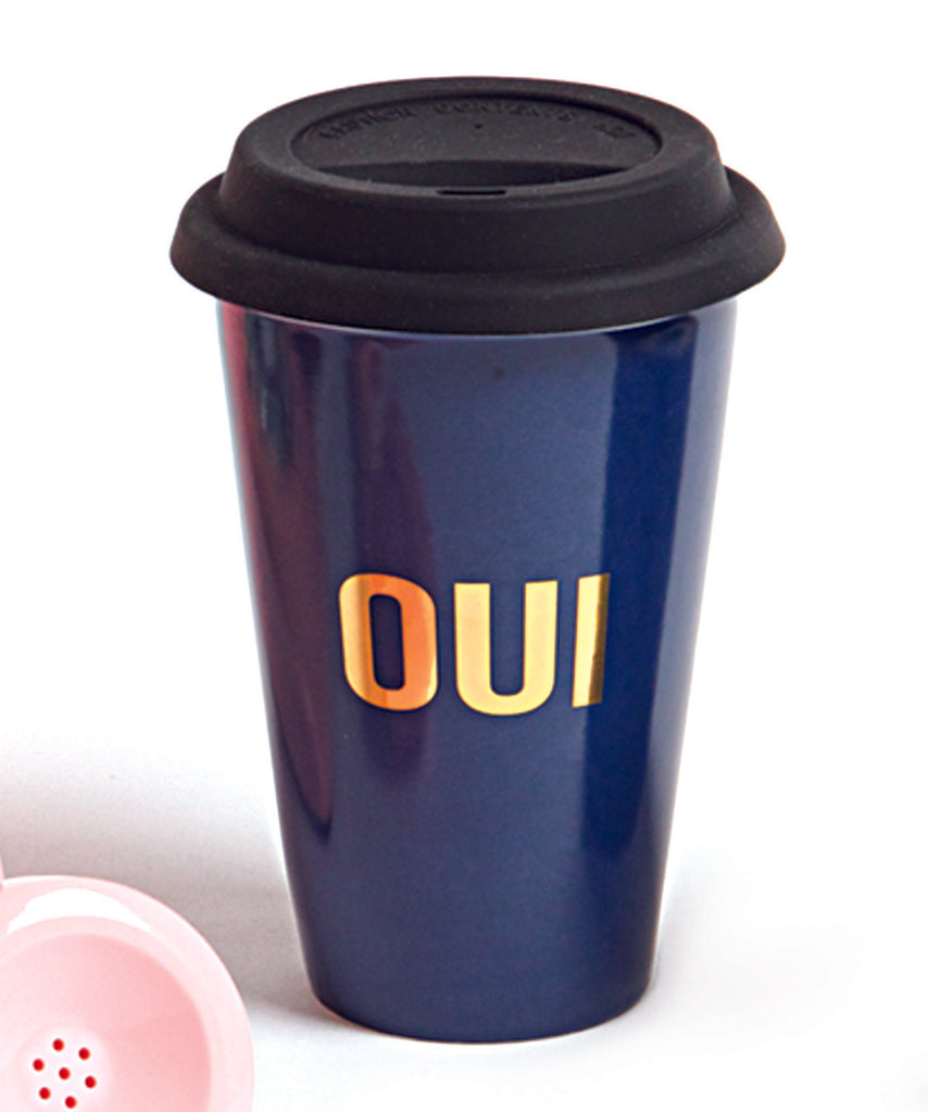 8 Oak Lane Travel Mug Oui - Ship Chic