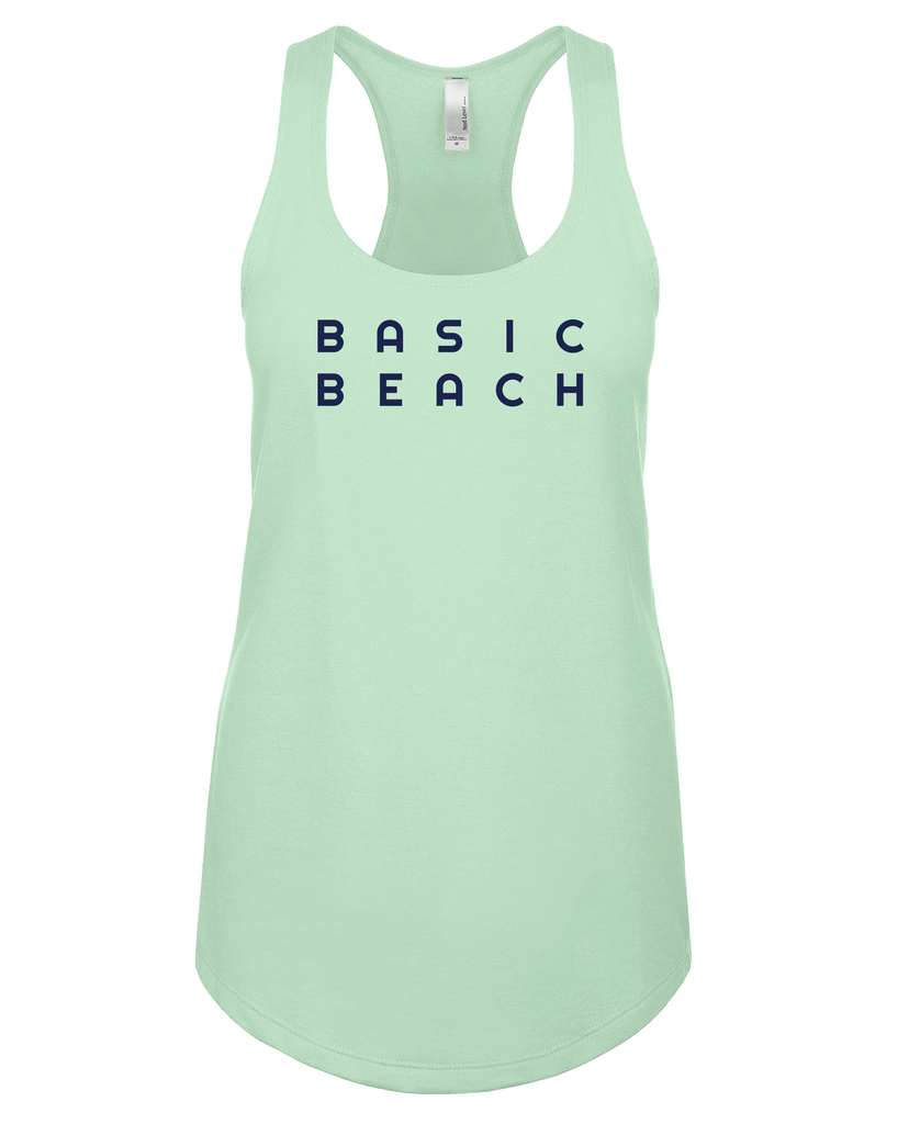 Ship Chic Basic Beach Tank - Mint - Ship Chic