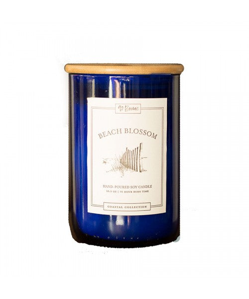 90 Bourne 10oz. Soy Candle - Beach Blossom - Ship Chic