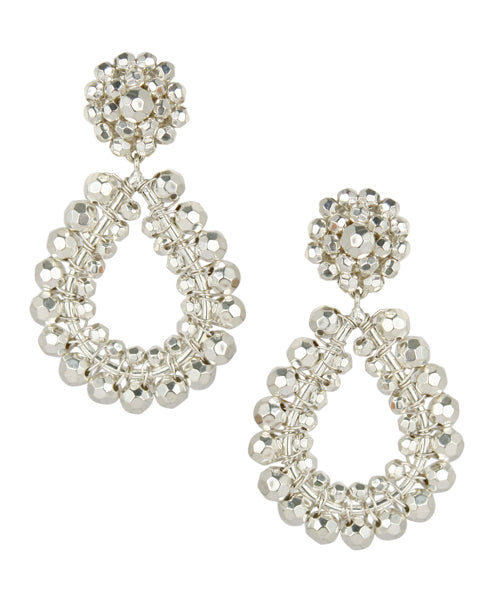 Margo Earrings - Silver