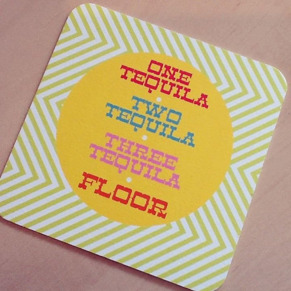 1,2,3 Tequila Coasters