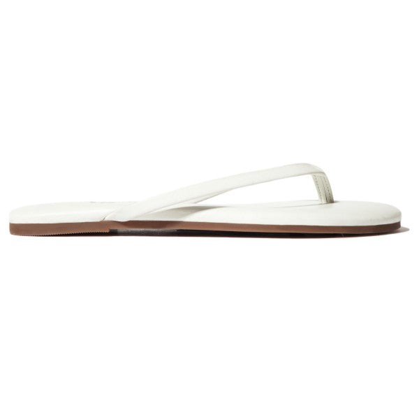 Yosi Samra Roee Soft Leather in White - Ship Chic