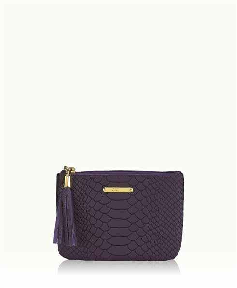 GiGi New York Sleek, petite pouch, perfect luxury for your day and evening essentials. - Ship Chic