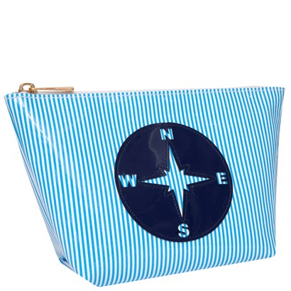 Lolo Blue Stripes w/ Navy Compass Smal Avery - Ship Chic