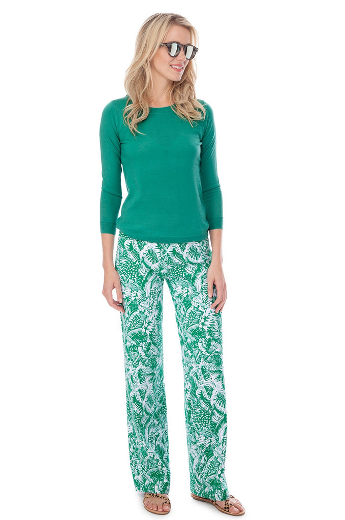 Persifor Tilly Pant - Botanique in Kiwi - Ship Chic