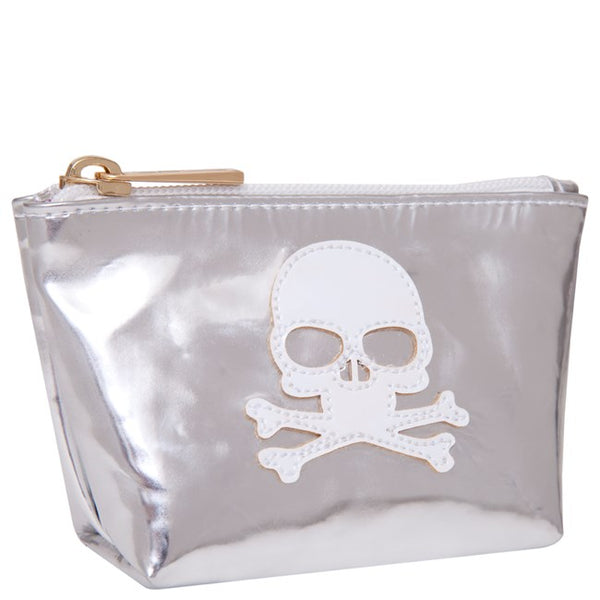 Lolo Silver and White Skull Mini Avery - Ship Chic