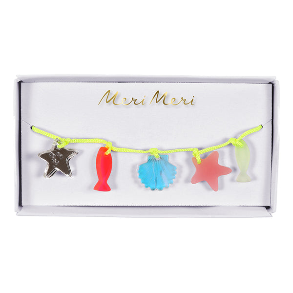 Meri Meri Sea Creatures Charm Bracelet - Ship Chic