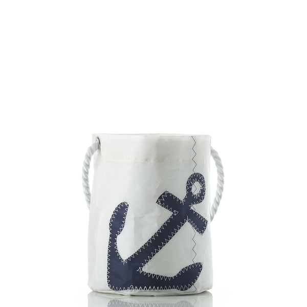 Seabags Anchor Bucket Bag Navy - Ship Chic