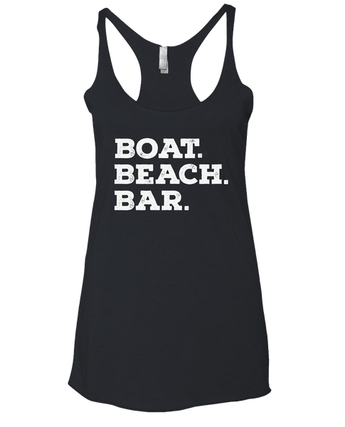 Ship Chic Boat. Beach. Bar. - Vintage Navy Tank - Ship Chic