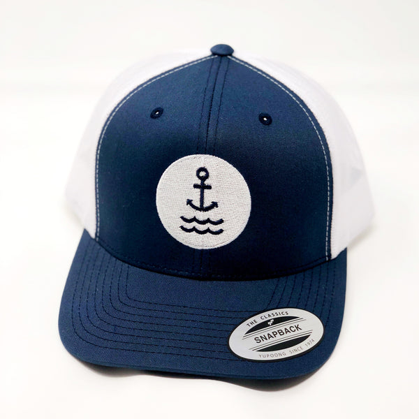 Ship Chic Ship Chic  Anchor Trucker  Navy/white - Ship Chic