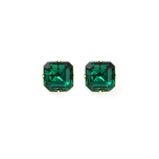 Loren Hope Sophia Studs - Emerald - Ship Chic