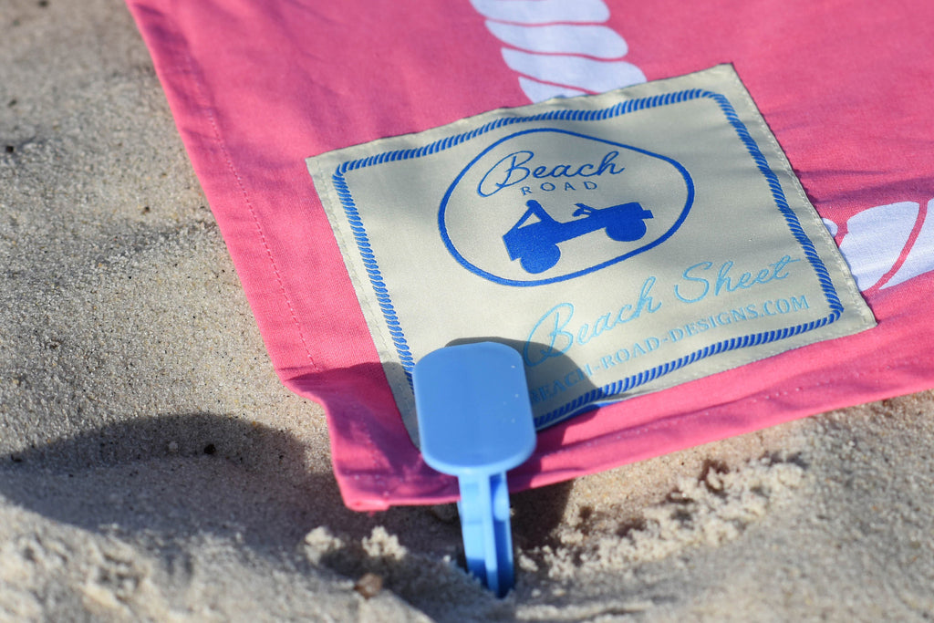 Beach Road Designs Beach Sheet Clips - Ship Chic