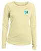 Ladies Paddle Jeep - L/S Performance Yellow