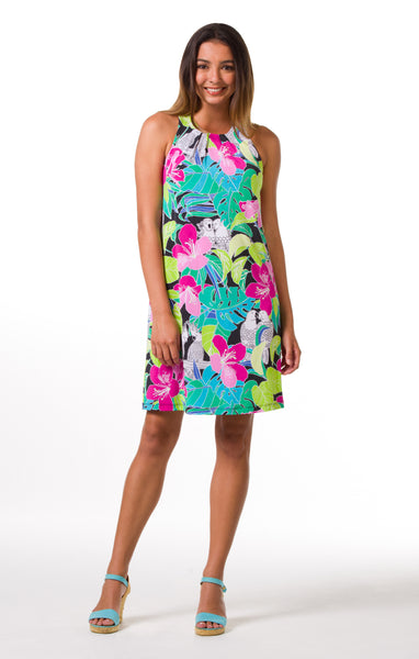 Tori Richard Birds in Paradise Chloe Dress - Ship Chic
