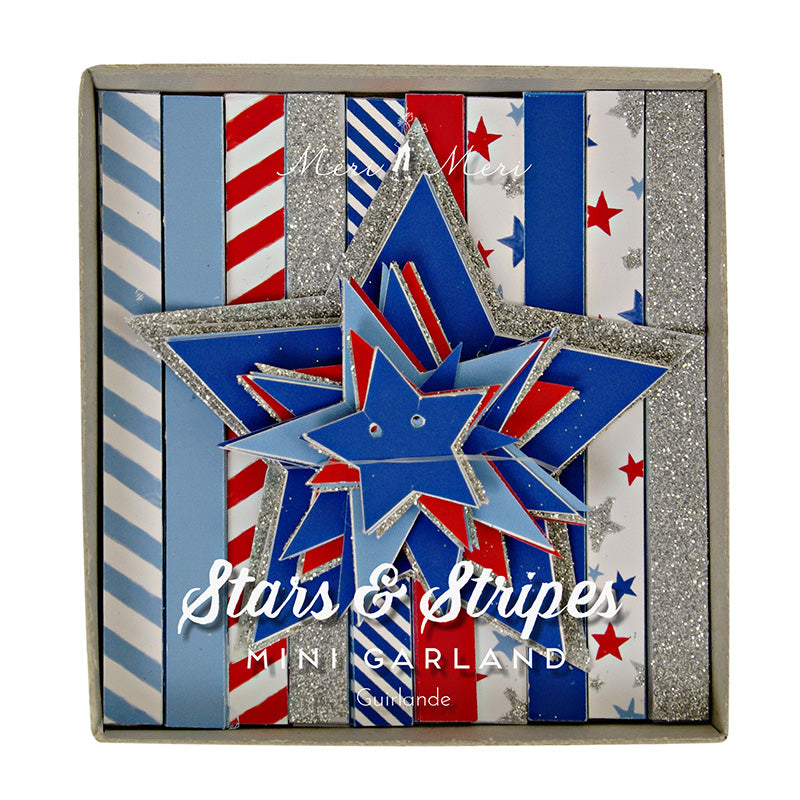 Meri Meri Stars & Stripes Mini Garland - Ship Chic