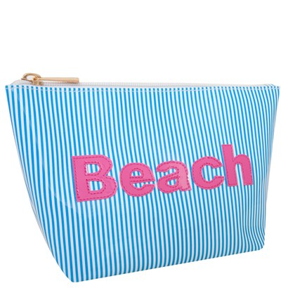 Lolo Blue Stripes Medium Avery with Pink Beach - Ship Chic