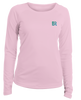 Boaters Republic BR Seal Ladies Pink L/S Performance - Ship Chic