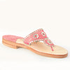 Palm Beach Sandals Classic Melon/Pale Gold - Ship Chic