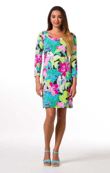 Tori Richard Birds in Paradise Jacquelynn Dress - Ship Chic