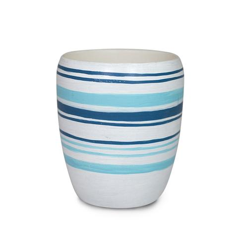 Mer-Sea Carena Striped Cup Candle - Ship Chic