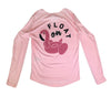 Ladies Float On L/S - Performance Pink