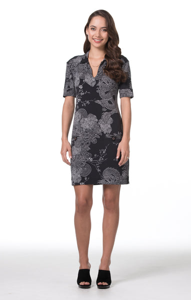 Tori Richard Enter the Dragon Jaxon Dress - Ship Chic