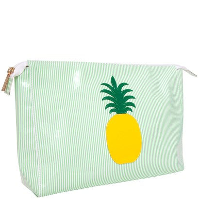Lolo Green Stripe Betty Case with Yellow Pineapple - Ship Chic