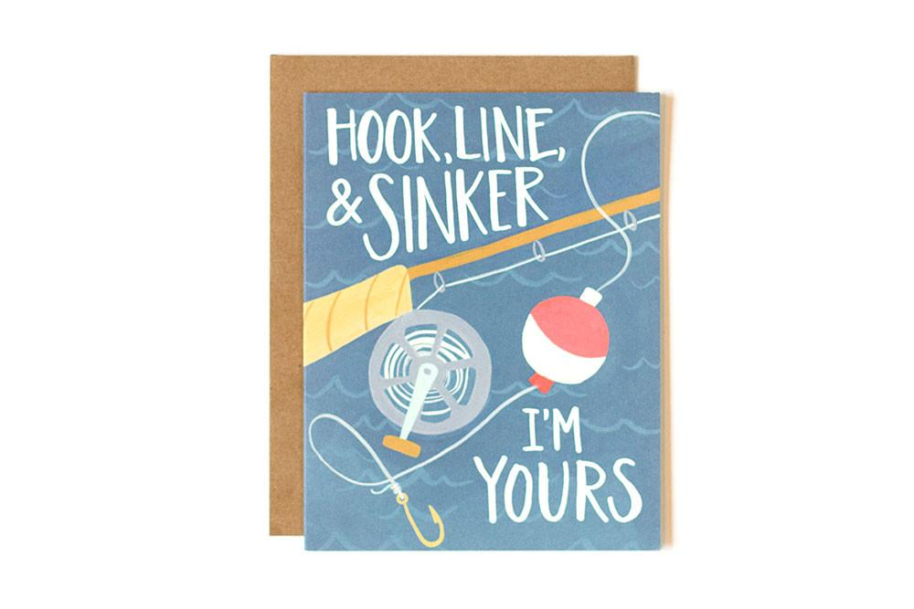 onecanoetwo Hook, Line, & Sinker Card - Ship Chic