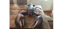 Load image into Gallery viewer, 4' Wood and Steel Lobster