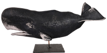 "Load image into Gallery viewer, 14"" Sperm Whales on Stands"