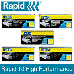 TRADE PACK - 2 Boxes Rapid 13 High Performance Staples