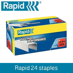 TRADE PACK - 3 Boxes Rapid 24 (3x5000) Staples