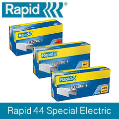 TRADE PACK - 5 Boxes Rapid 44 (5x5000) Special Electric Staples