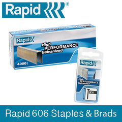 Rapid 606 Staples and Brads - 50% Discount - SAME DAY Despatch