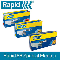 TRADE PACK - 5 Boxes Rapid 66 (5x5000) Special Electric Staples
